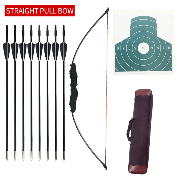 30/40 lbs Hunting Archery Bow Recurve Bow Outdoor Shooting Bow And Arrow Equipment Traditional Long Bow Professional Accessories