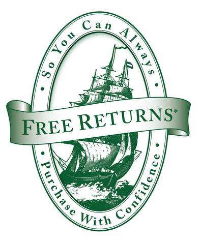 Free Returns So You Can Purchase with Confidence