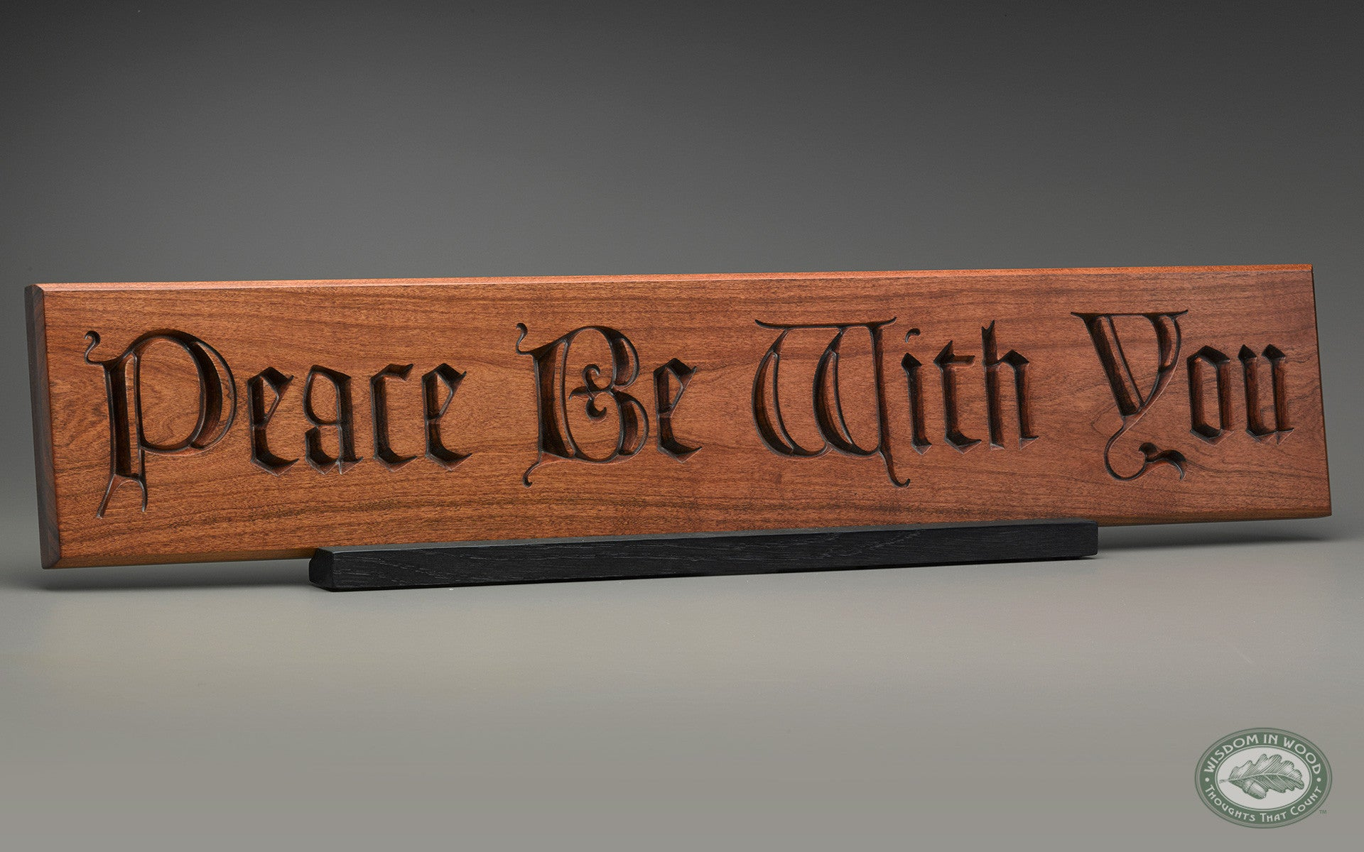 Peace Be With You Carving Good Thinking International Llc