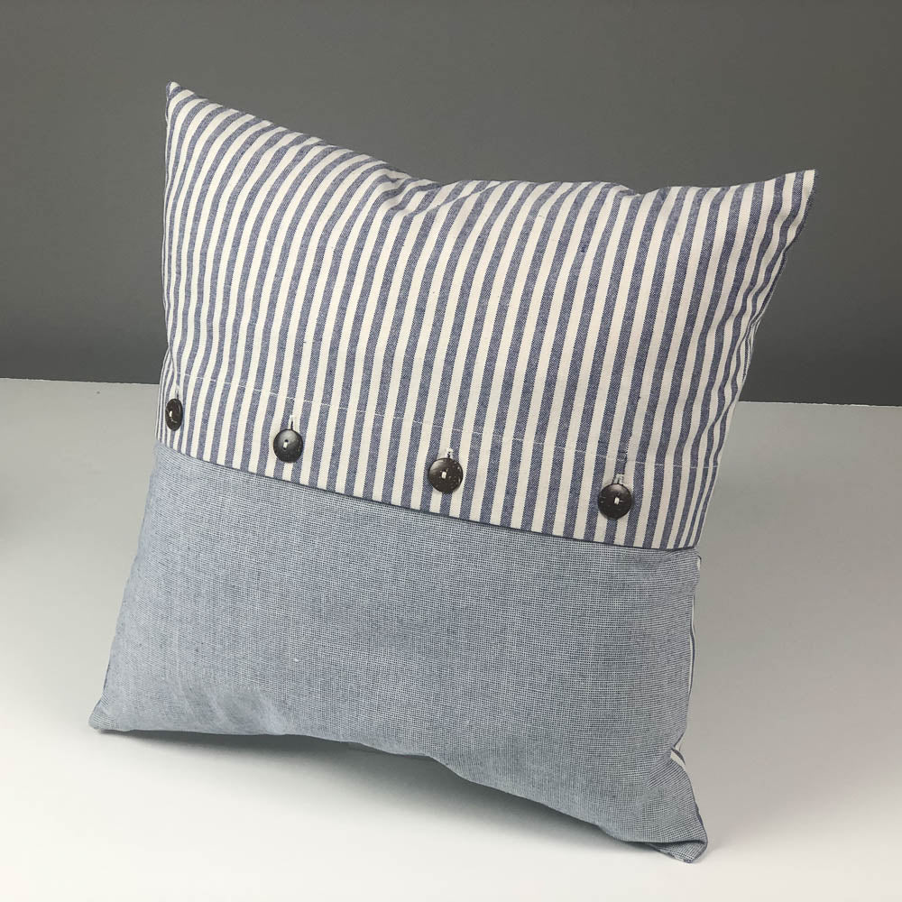 Buttoned Pillow Cover