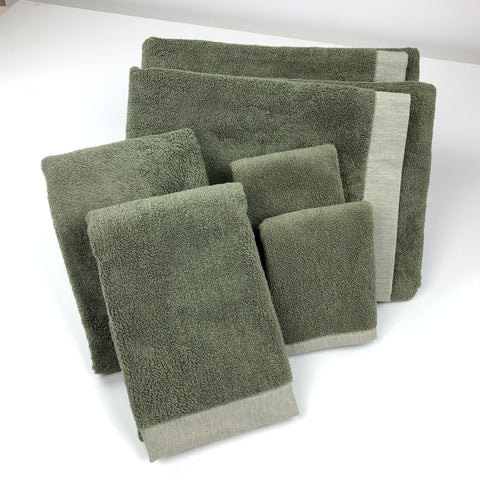 Bath Towel Set of 3 face hand bath