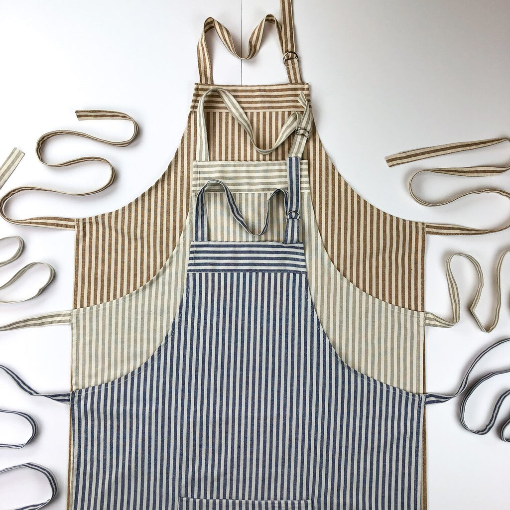 Aprons - Ticking Stripe