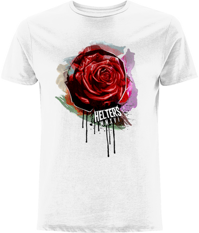 Men's 'Rose-Drip' T-shirt