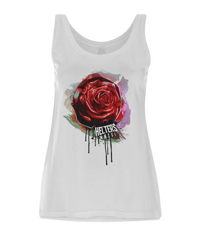 Women's Tencel© Blend 'Rose-Drip' Vest