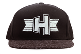 Geometric Graphic Peak SnapBack Cap