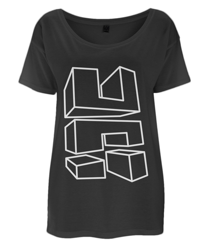 Women's Tencel© Blend Oversized 'H' T-Shirt