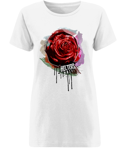Women's 'Rose Drip T-Shirt