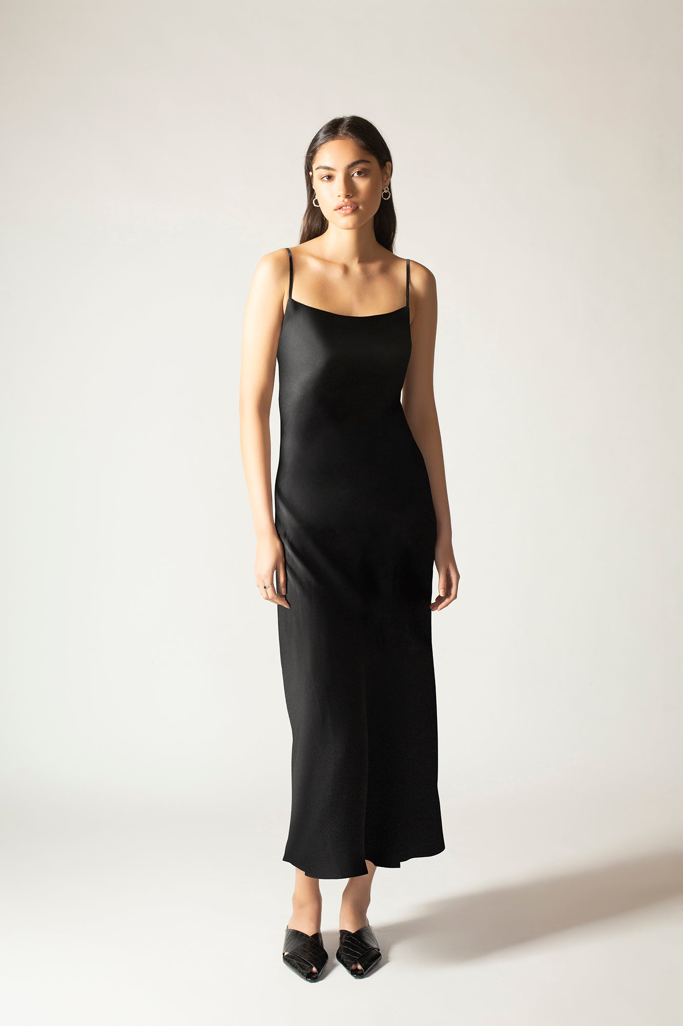 Freya Silk Slip Dress
