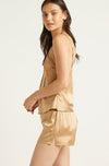 Gilded Gold Fine Finish Silk Short
