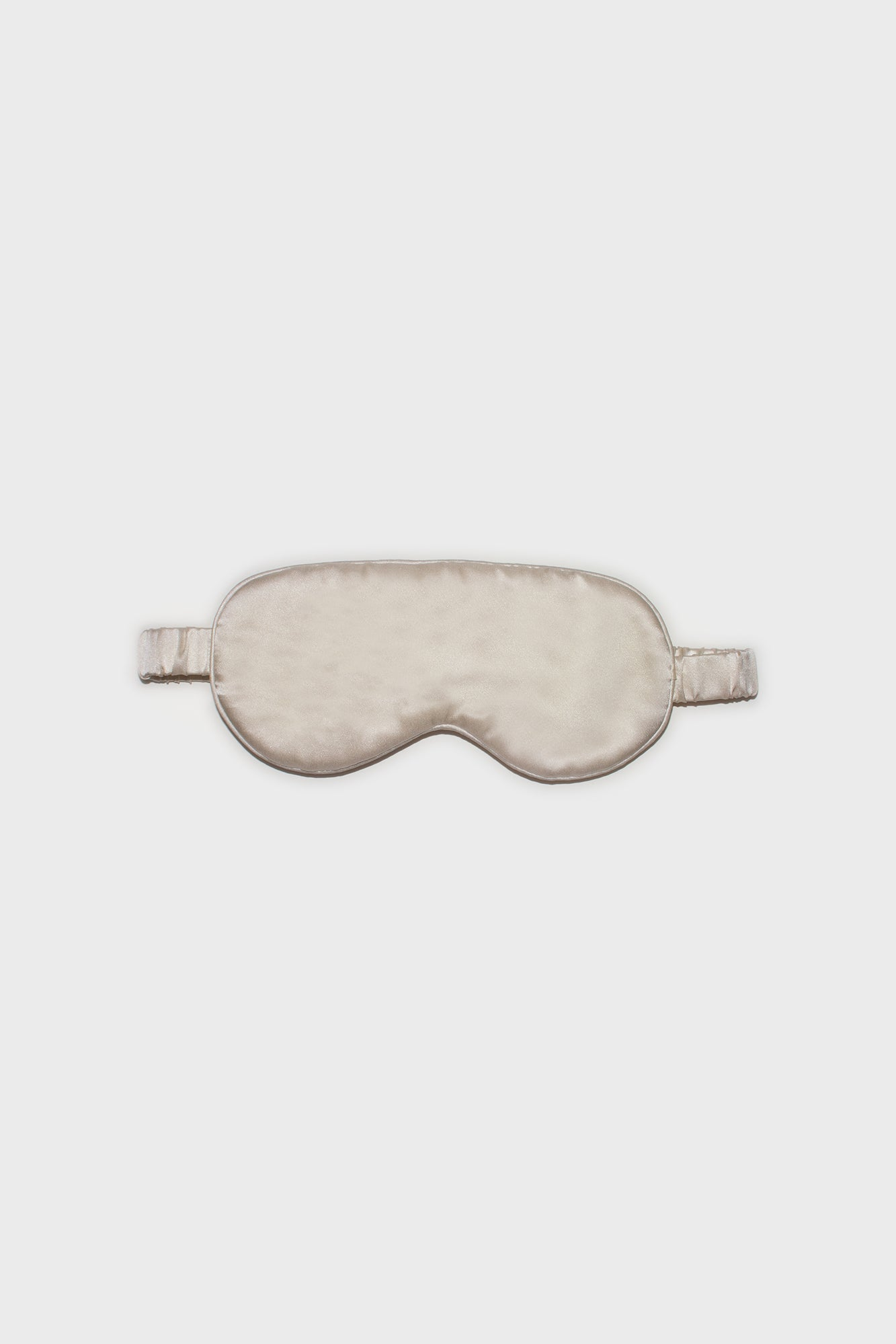 Champagne Silk Eye Mask