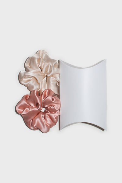 Silk Scrunchie 2 pack