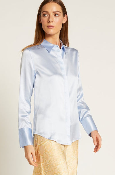 Forever Blue Poppy Shirt