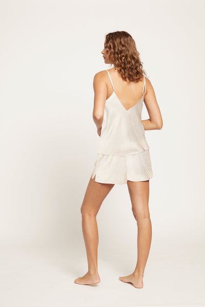 Silk Jacquard Short