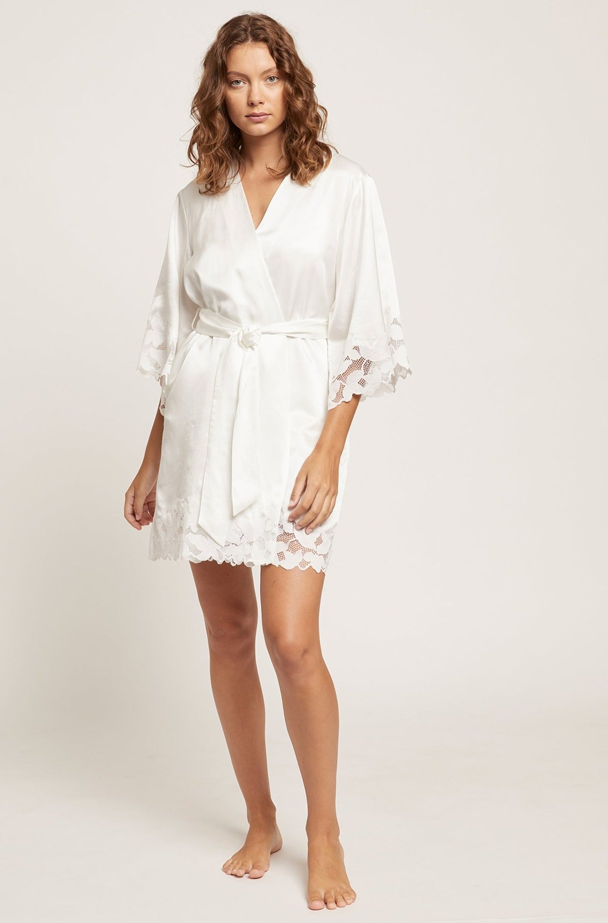 Sugar Swizzle Washable Silk Leila Robe