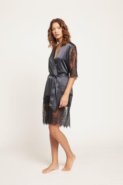 Blaise Silk Robe