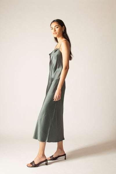 Ginia RTW,Urban Blue Charlotte Dress,Dress