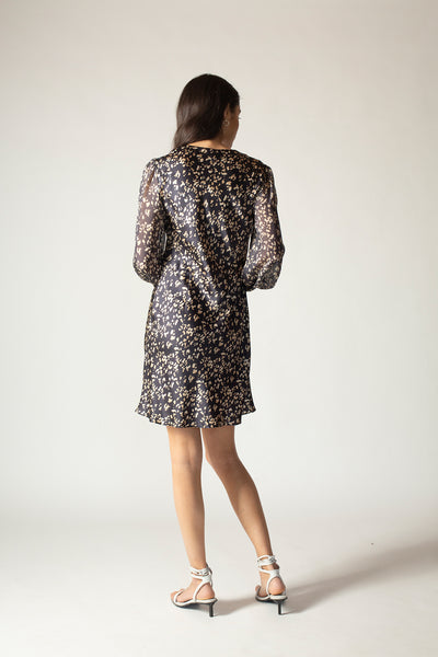 Ginia RTW,Stella Panthere Mini Dress,Dress