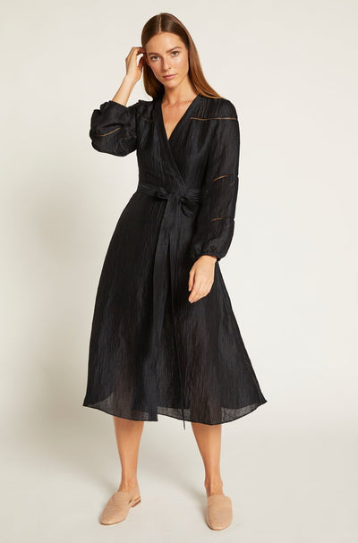 India Ink Luca Wrap Dress