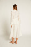 Ivory Luca Wrap Skirt