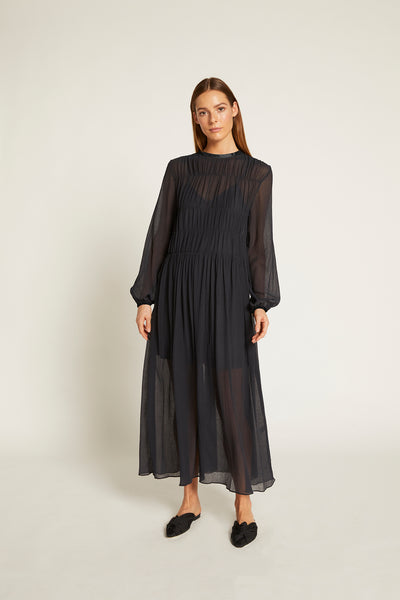 Finley Gathered Maxi Dress