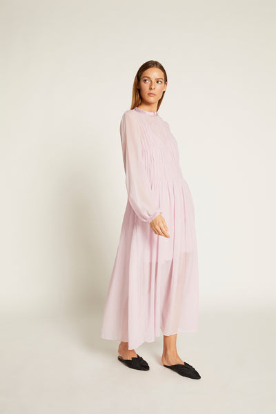 Lilac Finley Gathered Maxi