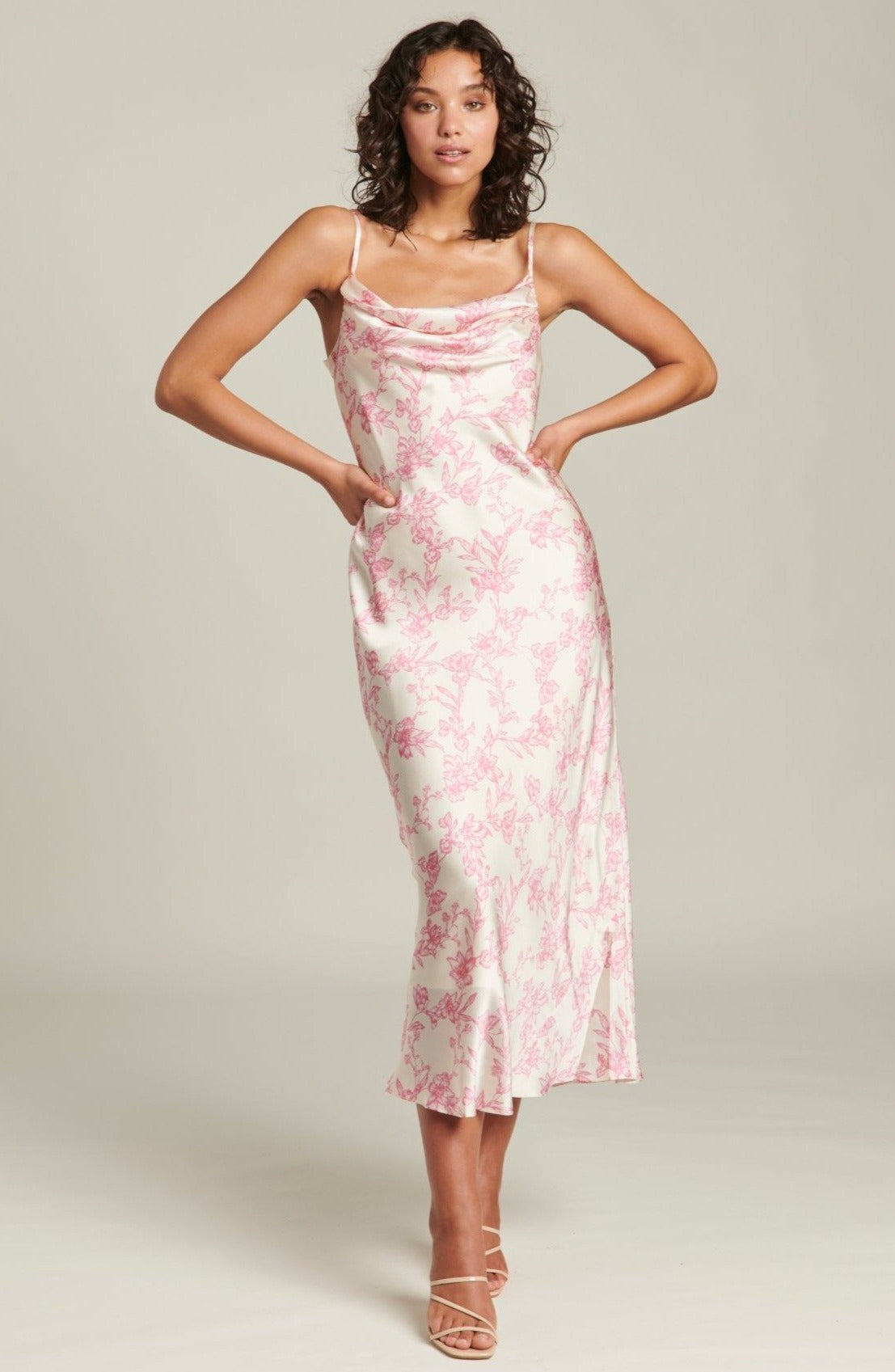 Pink Sketch Isabel Maxi Dress