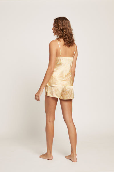 Serpentine Silk Short