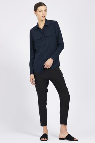 Poppy Shirt - Navy