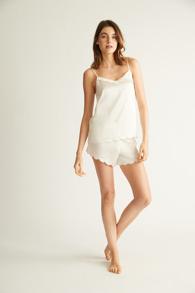 GINIA,Adore Embroidered Short,Shorts