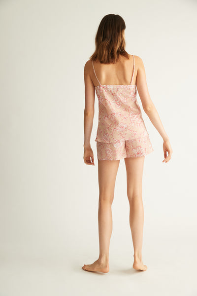 GINIA,Silk Cotton Camisole,Sleepwear