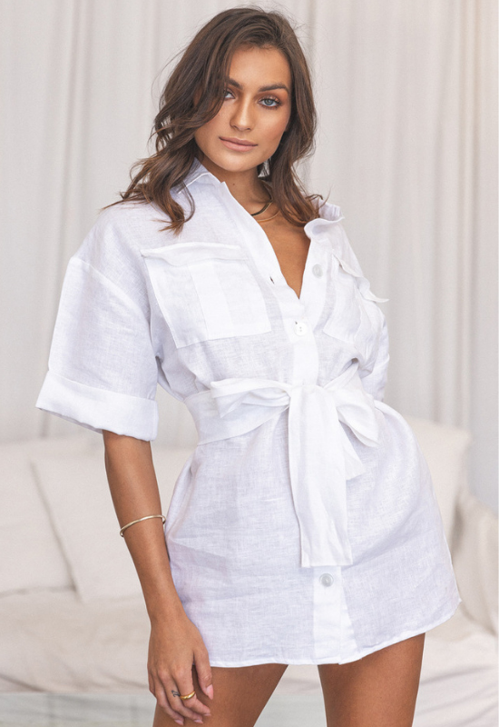 Giulia Shirt Dress