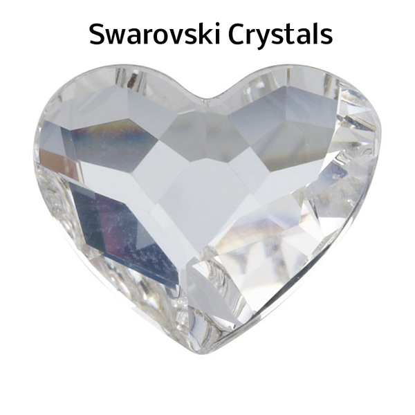 Genuine Swarovski Crystals