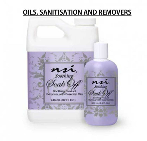 Oils, Sanitisation and Removers