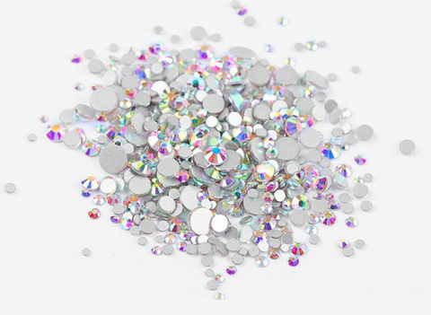 Multi sized bulk bag 1440pc Rhinestones #1