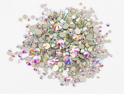 Multi sized bulk bag 1440pc Rhinestones #2