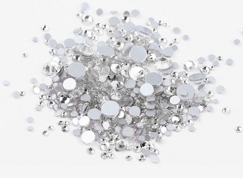 Multi sized bulk bag 1440pc Rhinestones #4