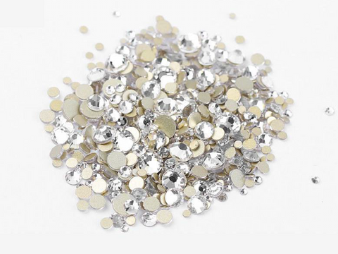 Multi sized bulk bag 1440pc Rhinestones #5