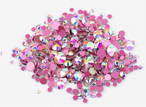 Multi sized bulk bag 1440pc Rhinestones #6