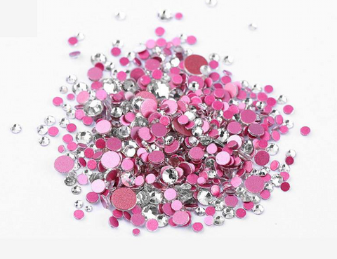 Multi sized bulk bag 1440pc Rhinestones #7