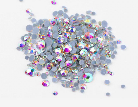 Multi sized bulk bag 1440pc Rhinestones #8