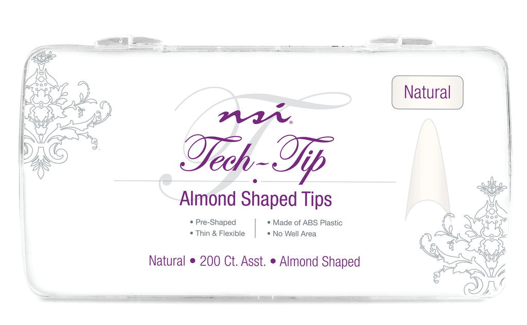 Tech-Tip Almond Natural Tips 200ct