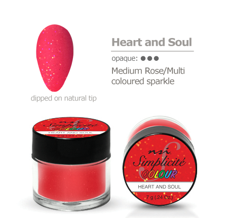 Simplicite' Dipping Powder Heart & Soul