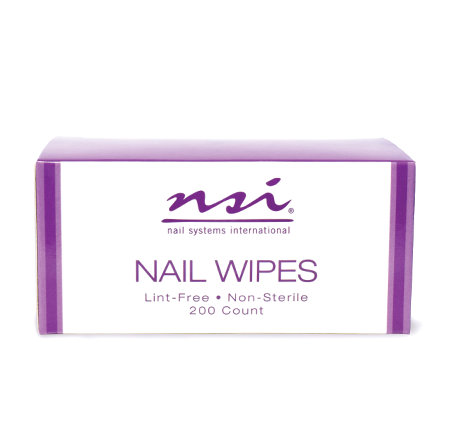 Lint Free Nail Wipes 200 ct - NSI NZ Ltd