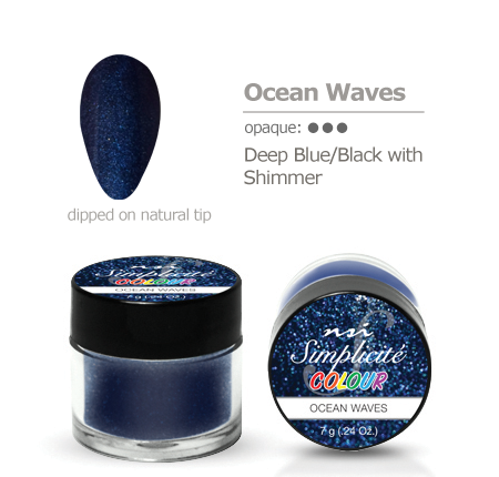 Simplicite' Dipping Powder Ocean Waves