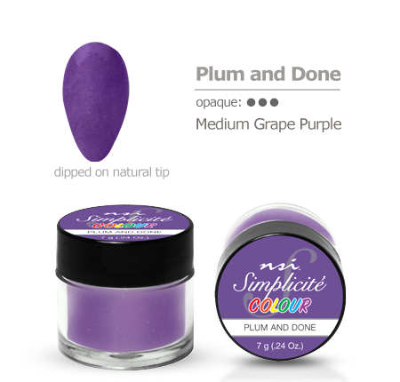 Simplicite' Dipping Powder Plum & Done