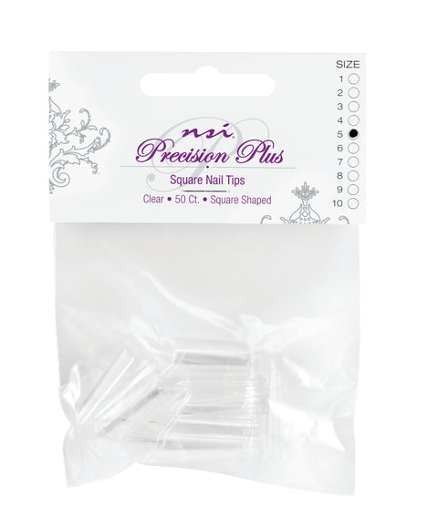 Precision Plus Clear Tips Individual Sizes 1-10