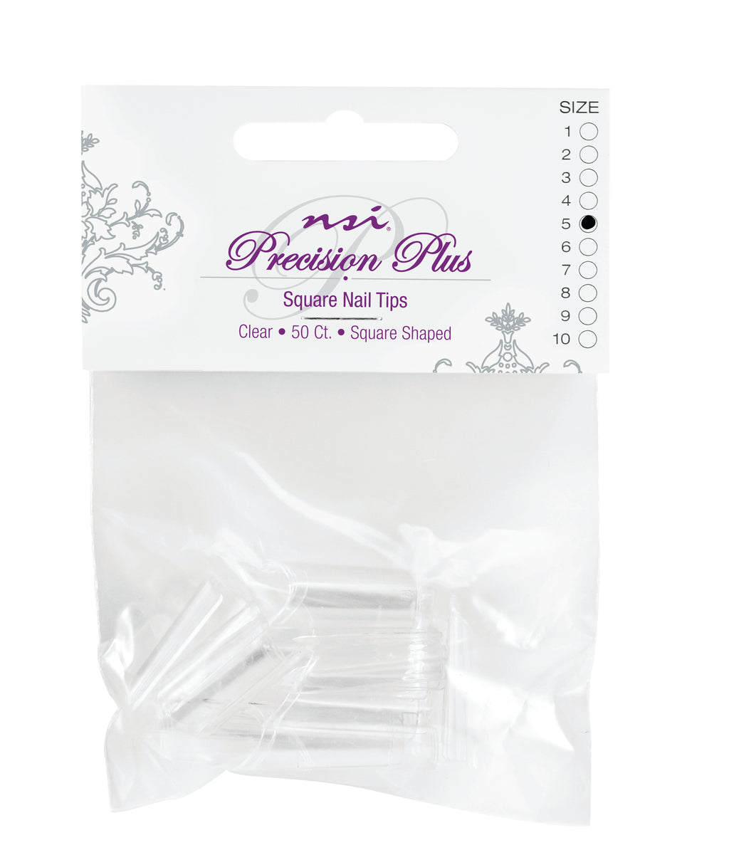 Precision Plus Clear Tips Individual Sizes #4