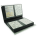 120 Slot Nail Sticker Display Book Silver