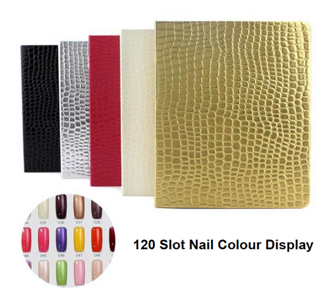 Gold 120 slot Colour Display Book