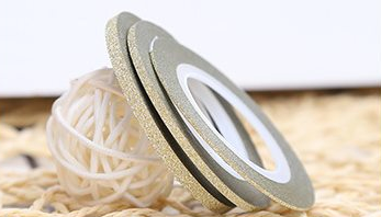 Champagne Glitter Striping Tapes 1,2 & 3mm Pack